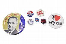 Vintage Campaign Buttons 1