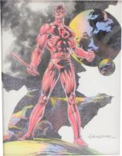 Rudy Nebres Original Daredevil Art
