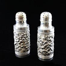 Whiting Salt and Pepper Shakers