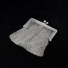 Sterling Mesh Coin Purse