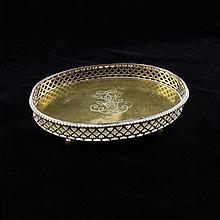 R. Miracoli Oval Vanity Tray