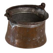 Copper and Galvanized Pot