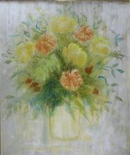 Original Still Life Floral Oil Painting