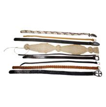 Womens Group of 9 Belts Mainly Designer