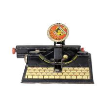 Vintage Tin Marx Child Toy Typewriter