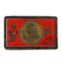 South Africa 1900 Cigarette Tin