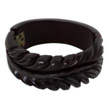 Vintage Floral Bakelite Bracelet