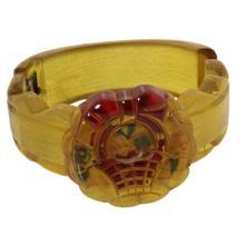 Vintage Bakelite Hinged Bracelet