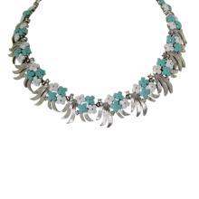 Vintage Trifari Floral Necklace
