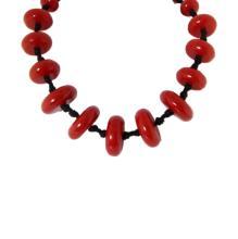 Vintage Bakelite Bead Necklace