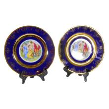 Pair of Czech Plates