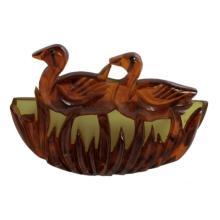 Vintage Bakelite Duck Brooch