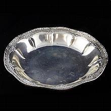 Webster Co. Fluted Sterling Bowl
