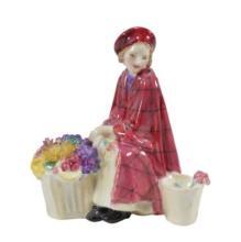 Royal Doulton Bonnie Lassie Figurine