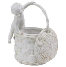 Porcelain Child with Basket