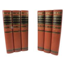 Abraham Lincoln War Years Vol.1-6 by Carl Sandburg