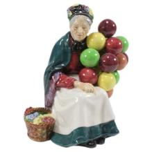 Royal Doulton Old Balloon Seller Figurine