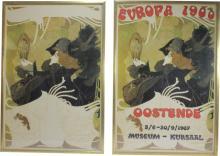 Vintage Georges De Feure Art Show Posters