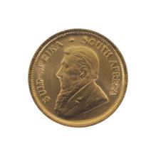 1982 Tenth Ounce Krugerrand Gold Coin