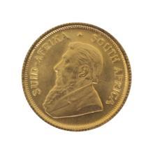 1984 Tenth Ounce Krugerrand Gold Coin