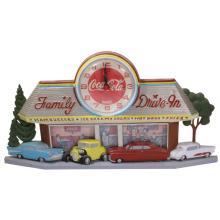Coca Cola Family Drive In Clock