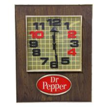 Vintage Dr Pepper Motion Clock