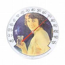 Coca Cola Brand Thermometer