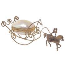Horse Drawn Sleigh with Shell Box