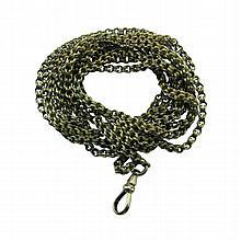 Antique Dual Strand Pocket Watch Chain