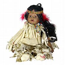 Seymour Mann Indian Girl Doll