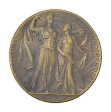 Bronze Universal Exposition 1904 St. Louis Medal