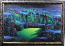 Jon Rattenbury Night Meadow Original