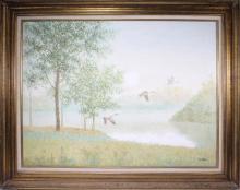 Collins, Original Oil on Canvas