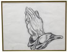 Original Sketch of Praying Hands