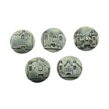 Santa Fe Mission Button Covers