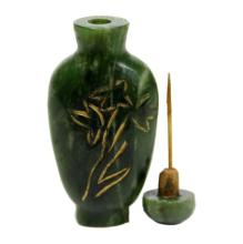 Green Hardstone Snuff Bottle