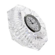 Waterford Lismore Diamond Paperweight Clock