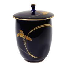 Porcelain Enameled Lidded Jar
