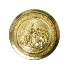 North Carolina Militia Button