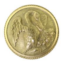 Louisiana Confederate Button
