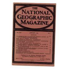National Geographic Magazine January 1903