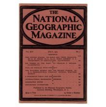 National Geographic Magazine July 1903
