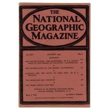 National Geographic Magazine August 1903