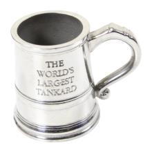 Pewter Souvenir Miniature Tankard
