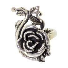 Sterling Flower Ring
