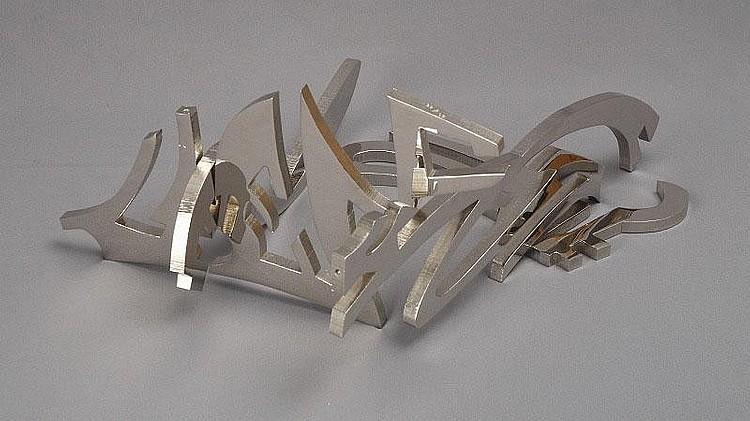 Mark di Suvero, Longing (Gemini 937): saw-cut