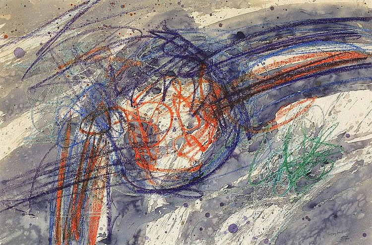 Stanley William Hayter, Untitled: watercolour and