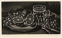 Kiyoshi Hasegawa, Oranges et raisins (Reifushobo 228)
