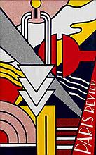 Roy Lichtenstein, Paris Review Poster (Corlett 43)