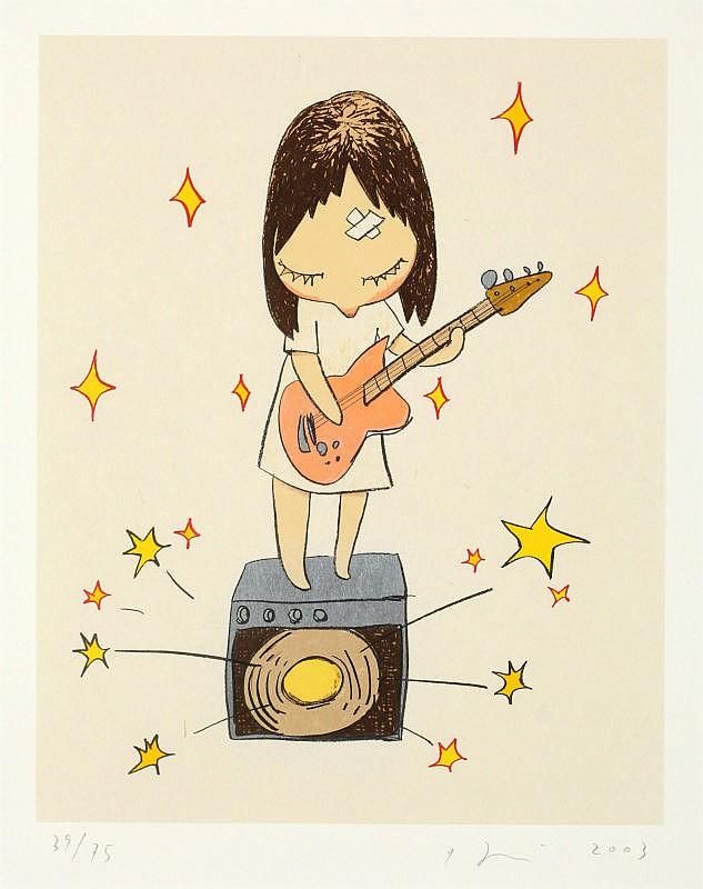 Yoshitomo Nara, Guitar Girl (Bijutsu Shuppan-sha Vol.1 E-2003-004)